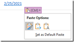 OneNote source paste